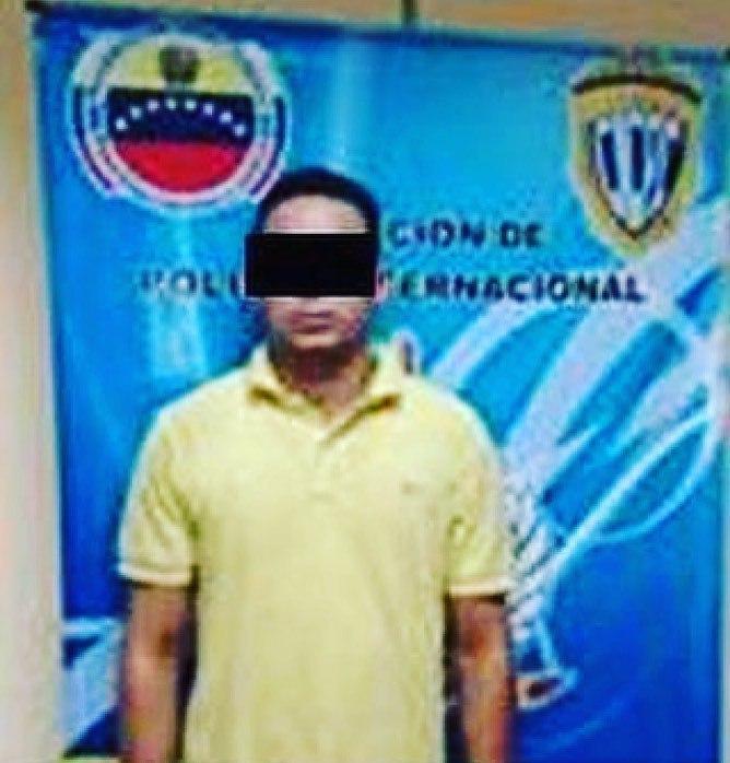 Cicpc detuvo a hombre con notificación roja por falsificación de permisos de navegación