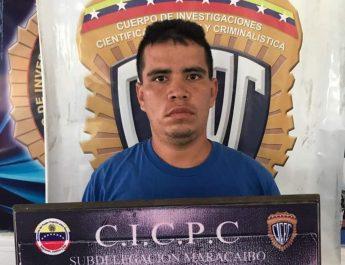 #CICPC capturó peligroso Colombiano (a) Jorgito en Maracaibo.