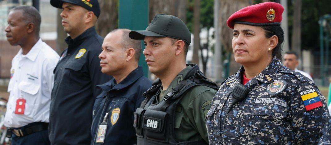 Desplegados 706 funcionarios en Plaza Venezuela para ofrecer seguridad y tranquilidad a los vecinos