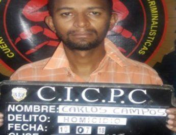 CICPC esclareció el homicidio de un hombre en Puerto La Cruz