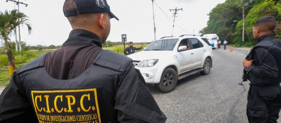Desplegados 130 funcionarios en Operativo Especializado Antisecuestro en el Eje Barlovento