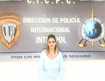 Cicpc Interpol detuvo a colombiana solicitada por tráfico de drogas