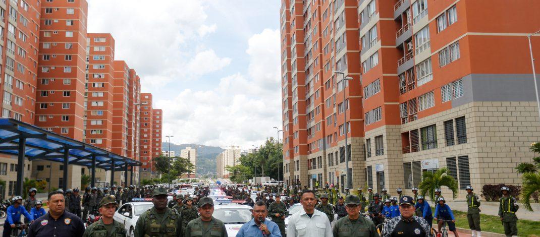 Gobierno nacional activa 13 Cuadrantes de Paz en Ciudad Tiuna