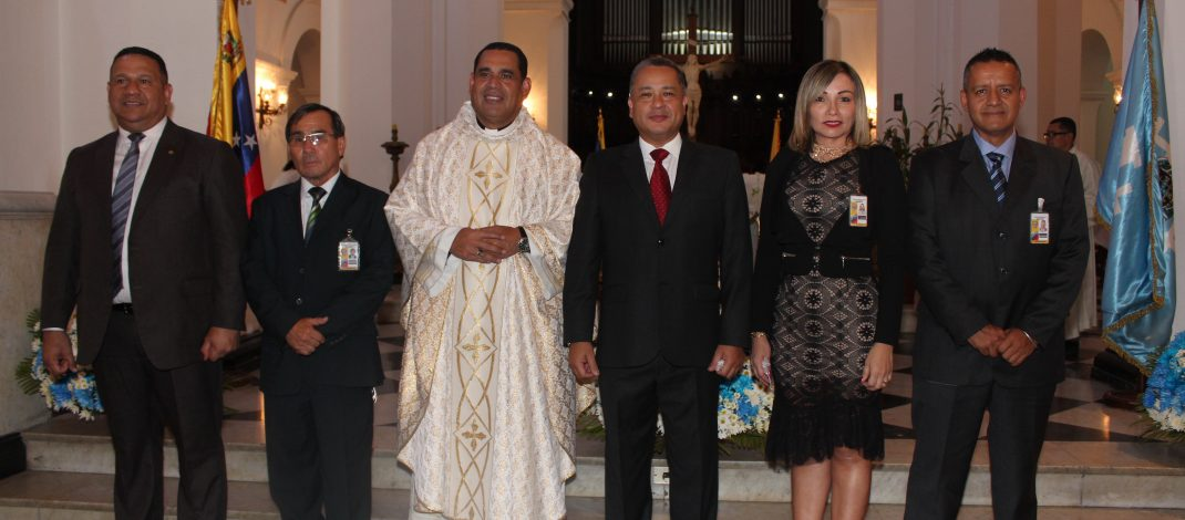 Cicpc Celebró XVII Aniversario Con Misa En La Catedral De Caracas