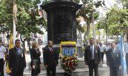 Ofrenda Floral Ante El Libertador Por XVII Aniversario Del Cicpc