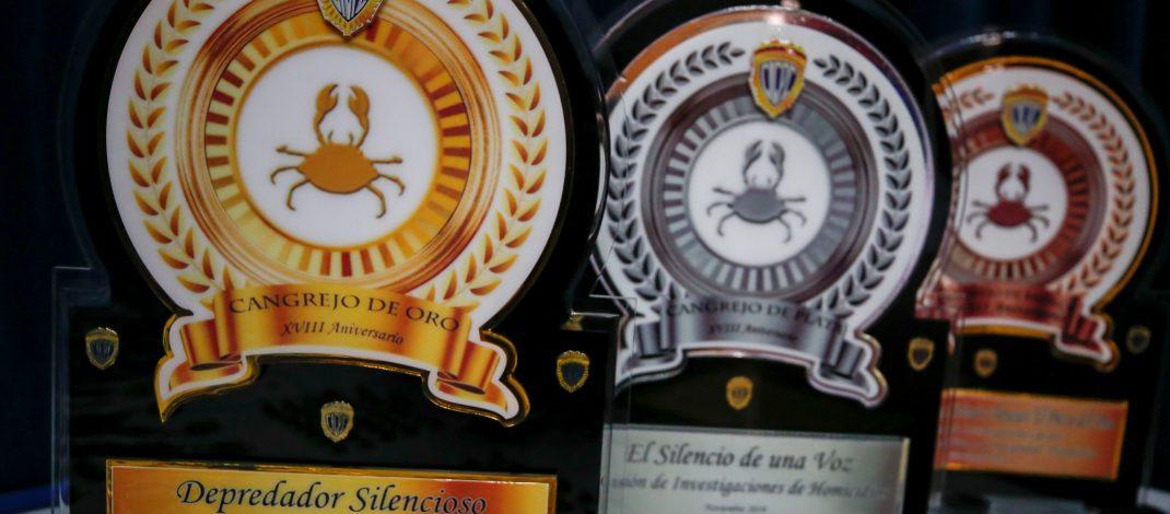 """Carabobo, Distrito Capital y Bolívar galardonados con premio """"Caso Cangrejo"""""""
