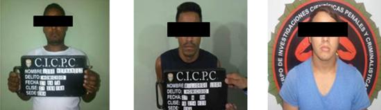 CICPC detuvo seis sujetos solicitados por homicidios en Anzoátegui
