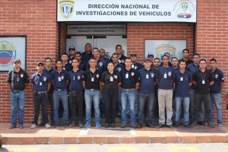 CICPC inició curso de Expertos en Peritaje de Vehículos