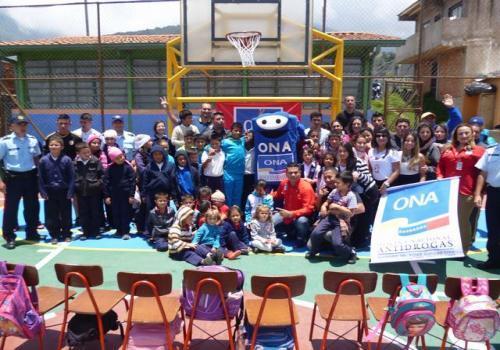 FONA reinaugura cancha deportiva en estado Táchira