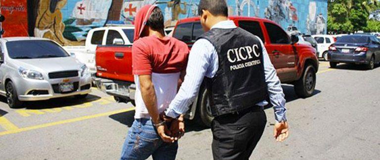 Capturado un sujeto solicitado por homicidio de funcionario del Cicpc