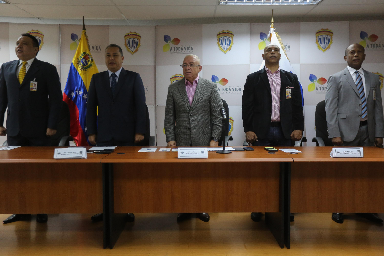 Cicpc refuerza lucha contra legitimaci n de capitales y for Oficina nacional de lucha contra los delitos de odio