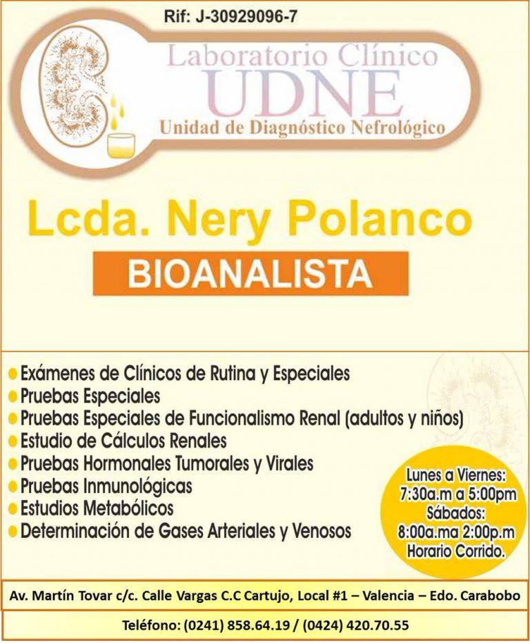 Nery Polanco Bioanalista