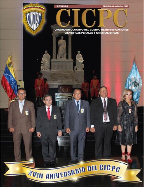 Revista Cicpc 44
