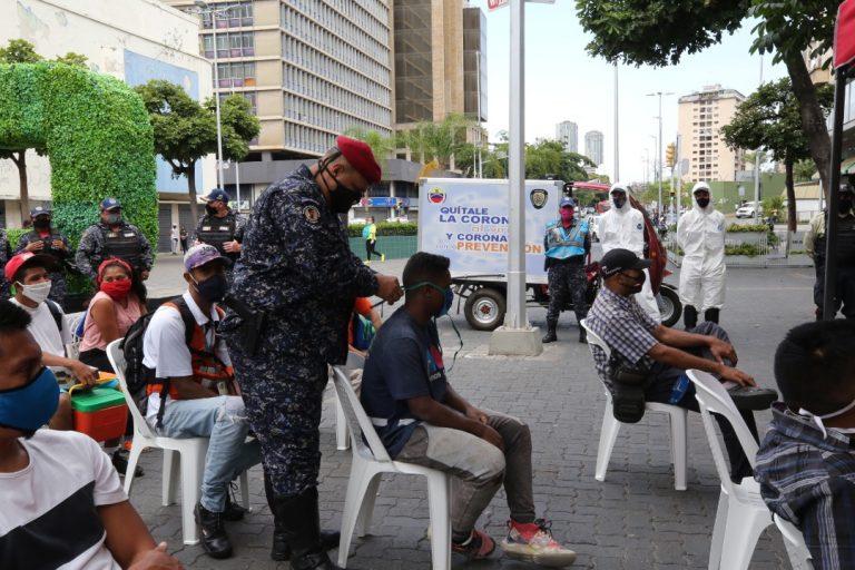 Activados 24 puntos de sensibilización contra el Covid-19 en Caracas