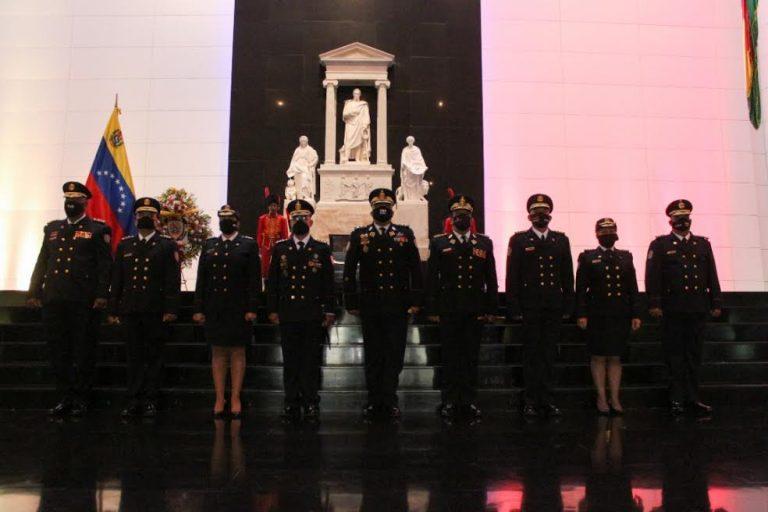 Funcionarios de seguridad conmemoran Día Nacional del Policía