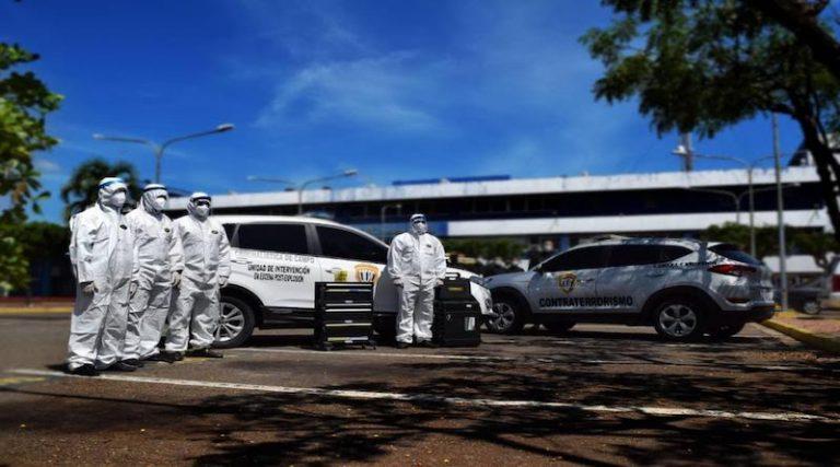 CICPC activa Unidad Post-Explosiones en el estado Zulia