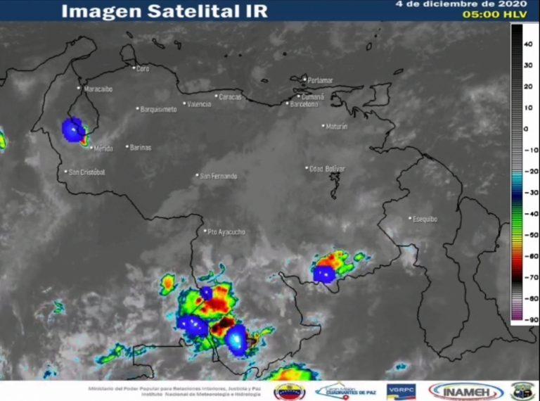 Inameh: Continúa la estabilidad atmosférica en buena parte del país