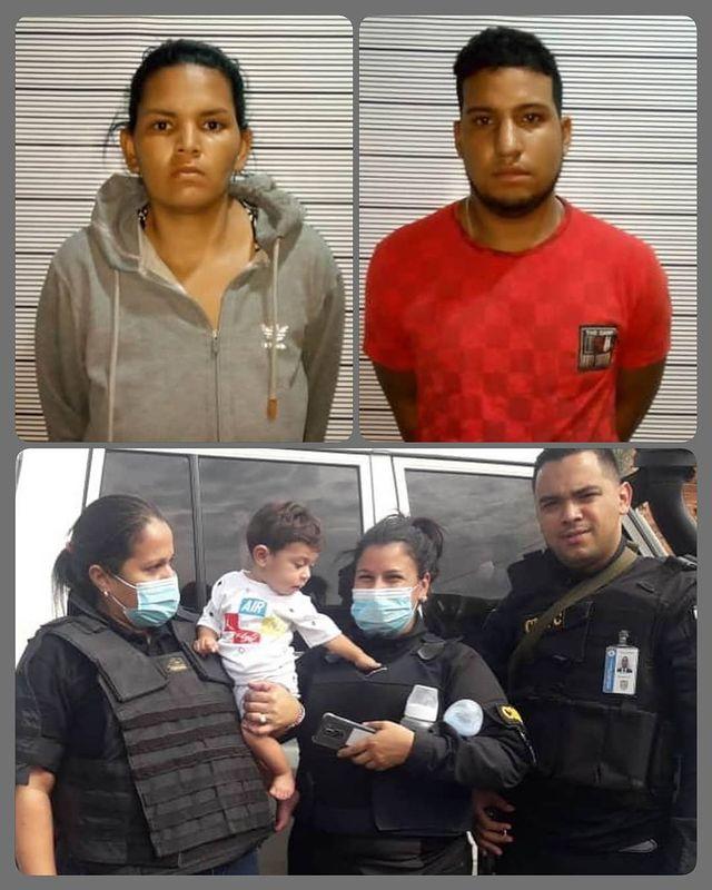 Cicpc rescató sano y salvo en Turmero a bebé de seis meses secuestrado en Caracas